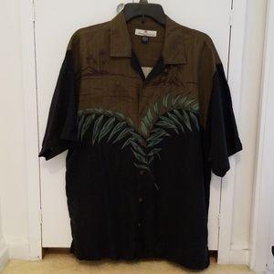Tommy Bahama mens aloha shirt